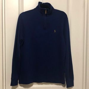 Polo Ralph Lauren Estate-Rib Quarter-Zip Pullover